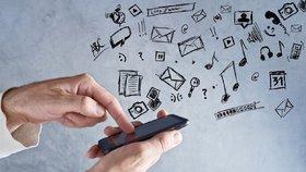 Mobily, internet, tablety... musí se umět používat.
