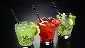 Vlastnoručně umíchané koktejly se budou hodit na každé party i při oslavě Valentýna.