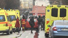 Šílený střelec zabil v Uherském Brodě osm lidí. Sám se pak zastřelil