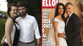 To, že je Marta Jandová vdanou ženou, vyšlo najevo až měsíc po svatbě. Fotky se na veřejnost nedostaly vůbec. A pořizovat snímky na obřadu zakázal i George Clooney.