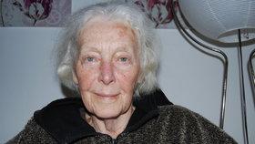 Nemocná Květa Fialová trpí Alzheimerovou chorobou.