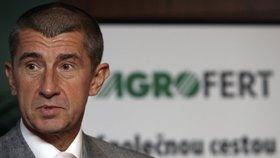 Andrej Babiš je jediným akcionářem Agrofertu
