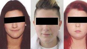 Tři dívky policie obvinila z vraždy a obecného ohrožení