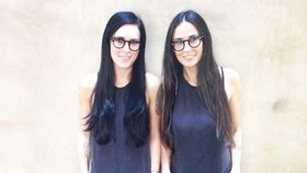 Rumer Willis a Demi Moore. Tipovali byste rozdíl 26 let?