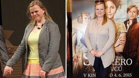 Sabina Remundová zhubla 12 kilogramů.