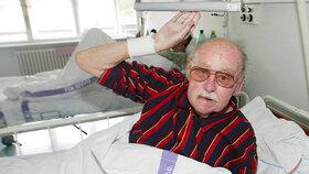Lubomír Lipský (92) je v nemocnici: Bojím se, že už se nevrátí, říká Skopeček