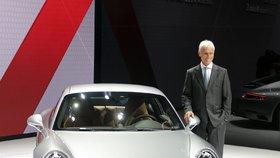 Novým šéfem koncernu Volkswagen, kam patří i Škoda, je Matthias Müller - dosavadní ředitel Porsche.