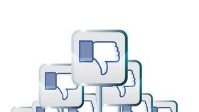 """Facebook """"palec dolů"""" nepovolí, místo něj testuje 6 jiných reakcí"""