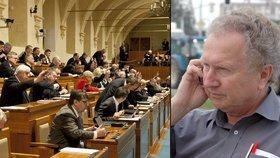 Veleba je v pasti. Úspěch Zemanova muže ve Sněmovně mu přinese ztrátu v Senátu