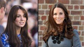 Unavená Kate: Může za to jen nový účes, nebo i malá princezna?