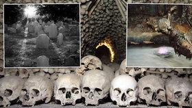 Nejstrašidelnější místa světa na Halloween: Hrůzostrašný zážitek nabízí i kostnice v Kutné Hoře!