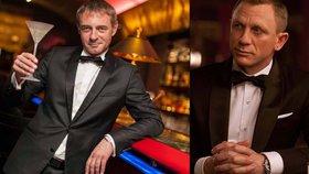 Jiří Dvořák, český hlas agenta 007:  Umím i protřepat a nemíchat!
