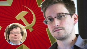 """Snowden je agent KGB, tvrdí Vondra. A """"naivka EU"""" mu prý spolkla návnadu"""