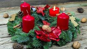 Advent začíná za 14 dní! Vyrobte si adventní věnec krok za krokem
