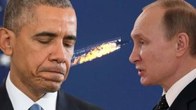 Putin obvinil USA, že prozradily Ankaře údaje o poloze ruských letadel.