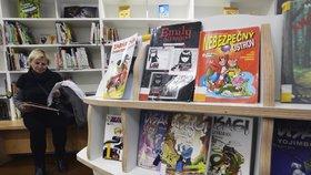 Půjčte si až 60 titulů, prosí knihovna na Lužinách. Oprava podlah ji na měsíce uzavře
