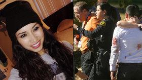 Denise Peraza popsala masakr v kalifornském centru pro postižené. Podle ní útočníci stříleli do lidí náhodně.