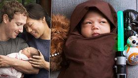 Zuckerbergova dcera jako Jedi! Zakladatel Facebooku podlehl šílenství Star Wars