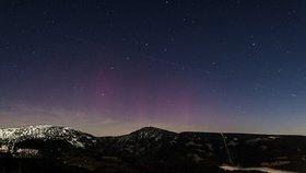 Letos teprve podruhé bylo možné z území České republiky sledovat polární záři.