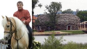 Policie vyšetřuje, zda nebyl spáchán dotační podvod při využití 50 milionů korun na stavbu Čapího hnízda Andreje Babiše.