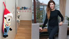 Na návštěvě u zpěvačky Victorie Velvet: Krásný dům si zařídila sama