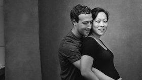 Šéf Facebooku Mark Zuckerberg a jeho žena: Čekají druhé miminko!