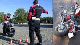 Žáci se budou na motorce učit bez instruktora. Kdo bude odpovídat za škody?