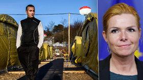 Dánská ministryně pro imigraci Inger Stojberg vysvětlovala, proč azylantům budou Dánové zabavovat peníze i cennosti.