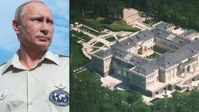 Vladimir Putin prý vlastní majetek v závratné výši pěti bilionů korun.