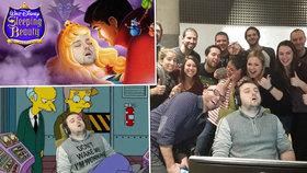 Muž usnul v práci, kolegové ho epicky zesměšnili na internetu