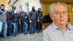 Prezident Miloš Zeman podle svých kritiků povzbudil útočníky, kteří napadli centrum na pomoc uprchlíkům.