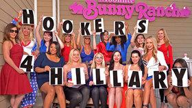 Prostitutky volí Hillary: Ať zkrotí muže, volají kněžky lásky