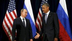 Rusko i USA vítají dohodu o příměří v Sýrii jako šanci k urovnání (fotografie ze setkání v OSN ze září 2015)