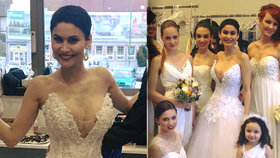 Nevkusná nevěsta Erbová: Do korzetu narvala silikony tak, až jí lezly prsní dvorce!