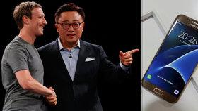 Samsung nadchl s Galaxy S7: S vývojem pomáhal i šéf Facebooku
