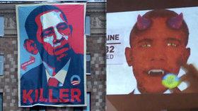 Masové vraždy a ďábel v těle: V Rusku pro zábavu démonizují Obamu