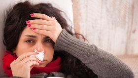Chřipka v Česku zabíjí: Zemřeli dva lidé a nemocných dál přibývá