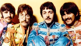 Skupina The Beatles v dobách své největší slávy