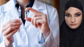 Muslimka nechtěla nechat očkovat své děti: Přinutil ji až britský soud. (Ilustrační foto)