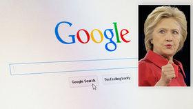 Google není jen vyhledávač? Měl svrhnout Asada, říkají e-maily Clintonové