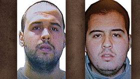 Bratři Khalid (vlevo) a Brahim El Bakraouiovi sledovali šéfa jaderného výzkumu.