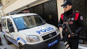 Policie v Istanbulu zadržela 82 teroristů. Měli být napojení na Islámský stát