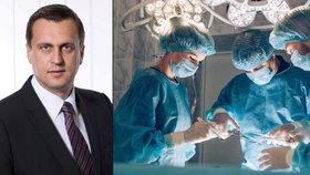 """Mám nález u žaludku,"" potvrdil šéf parlamentu Danko. Čeká ho operace"