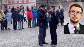 Policie zakázala skautům zpívat na Hradě českou hymnu. Ovčáček se omlouvá