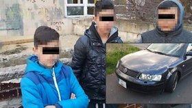 Malí gauneři z Chanova mají novou zábavu: Na auta posílají pneumatiky