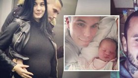 Rapper s cejchem rváče Leo Beránek se stal tátou! Bývalá pornohvězda mu porodila dceru