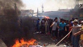 Výbuch při mši ve filipínském kostele: Na věřící zaútočili zřejmě islamisté