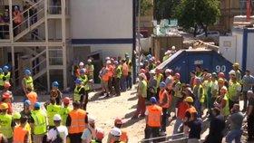 Velký zátah na cizince: Celníci zavřeli stavbu, prověřili přes 250 lidí