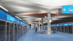 Metro D ještě nestojí, ale už plánují prodloužení. Až do Jesenice
