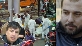 Útoky v Istanbulu: Terorista prý pracoval pro Saakašviliho
